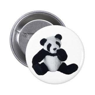Panda Toy Pinback Button