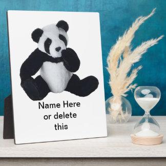 Panda Toy Plaque (3) sizes