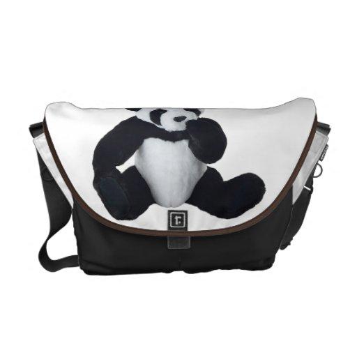 Panda Toy ,Rickshaw Messenger Bag