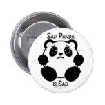Panda triste pin
