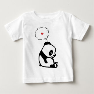 Panda triste playera