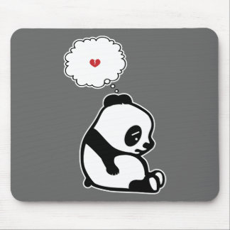 Panda triste tapete de ratones