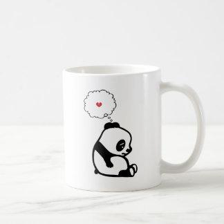 Panda triste taza clásica