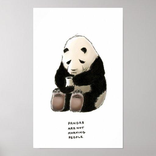 panda trivia poster