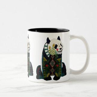 panda Two-Tone coffee mug