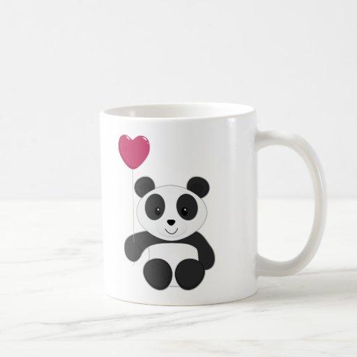 Panda Valentine Classic White Coffee Mug