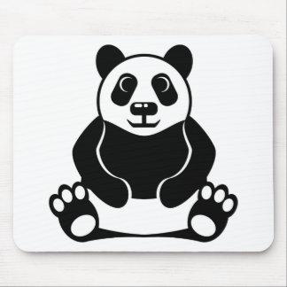 Panda vector mouse pad