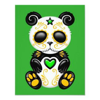 Panda verde del azúcar del zombi comunicado