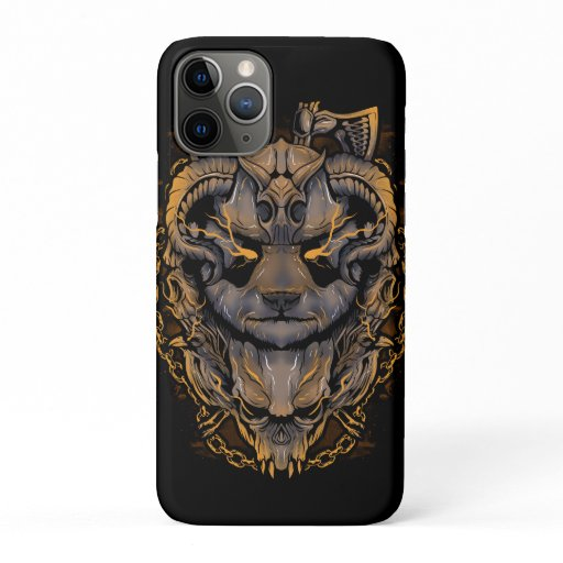 Panda Viking Warrior iPhone 11 Pro Case
