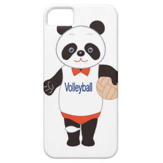 Panda Volleyball Player iPhone SE/5/5s Case