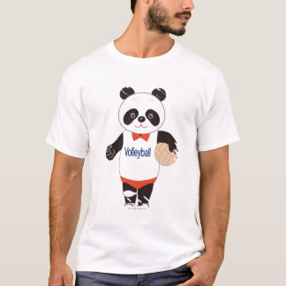 Panda Volleyball Player T-Shirt