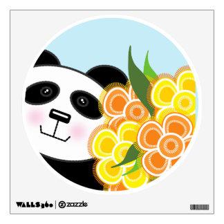 Panda Wall Decal - Cute Panda Wall Sticker