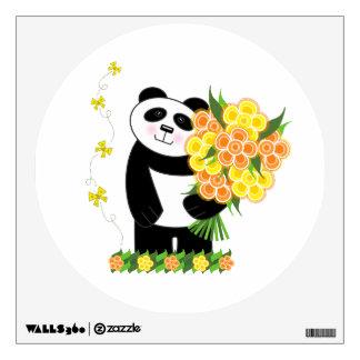 Panda Wall Decal - With Love Panda
