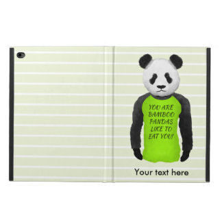 Panda Wearing A Funny Warning T-shirt Powis iPad Air 2 Case