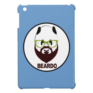 Panda wearing green glasses BEARDO Case For The iPad Mini