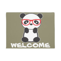 Panda Welcome Mat