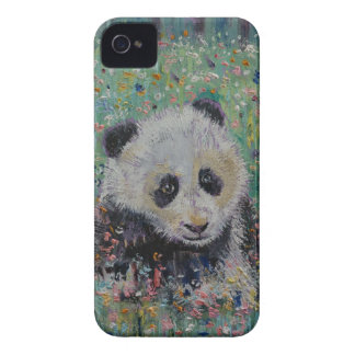 Panda Wildflowers Case-Mate iPhone 4 Case