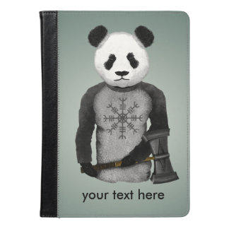 Panda With A Viking War Hammer iPad Air Case