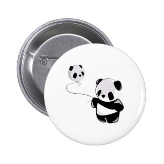 Panda With Balloon Pin
