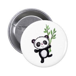 PANDA WITH BAMBOO PINS