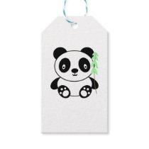 Panda with Bamboo Gift Tags