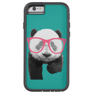 Panda with Pink Glasses Cute Funny Phone 6s Case