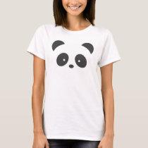 Panda women's t-shirt