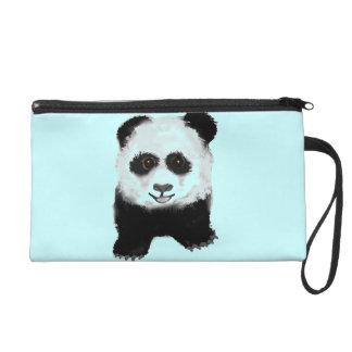 Panda Wristlet Purse