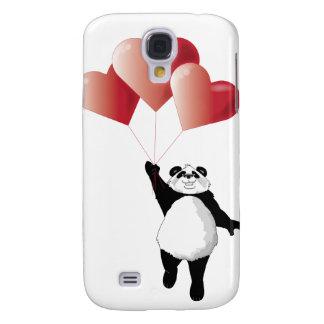 Panda y globos funda para galaxy s4