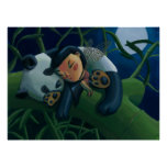 Panda y hada posters
