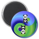 Panda Yin Yang Imán