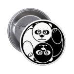 Panda Yin Yang Pin