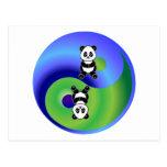 Panda Yin Yang Postal