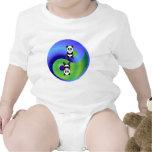 Panda Yin Yang Trajes De Bebé