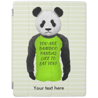 Panda Your Are Bamboo Pandas Like To Eat You iPad Smart Cover