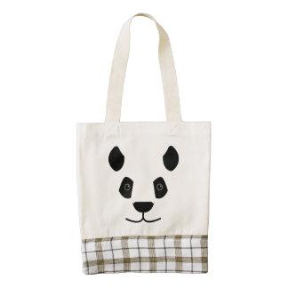 Panda Zazzle HEART Tote Bag