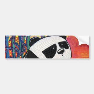 Panda Zen Master Car Bumper Sticker