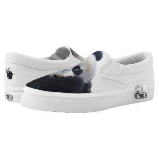 Panda ZIPZ Slip On Sneakers, Printed Shoes