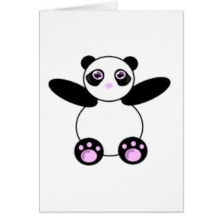 PandaBear Greeting Card