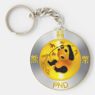 Pandacoin Swag Basic Round Button Keychain