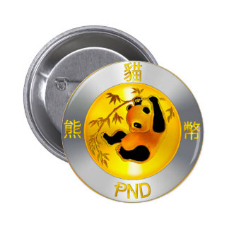 Pandacoin SWAG Pinback Button