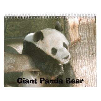 PandaM016, Giant Panda Bear Calendar