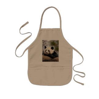 PandaM021, Giant Panda Kids' Apron