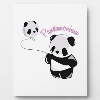 Pandamonium Photo Plaques