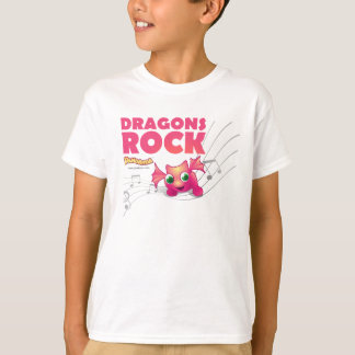 Pandanda 'Dragons Rock' T-shirt