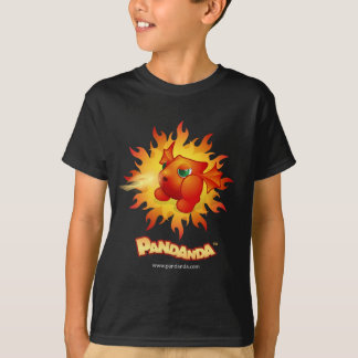 Pandanda Fiery Red Dragon T-Shirt