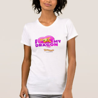 Pandanda I Love My Dragon T Shirt
