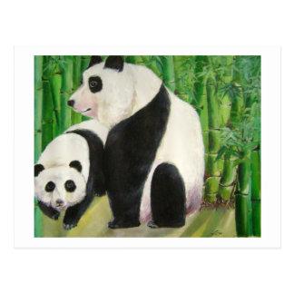pandas1 post card