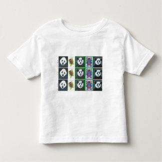 Pandas and Frogs Toddler Tshirt