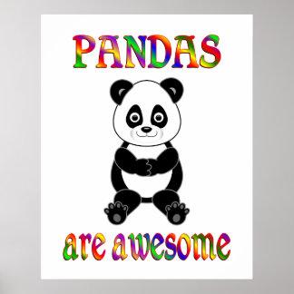 Pandas are Awesome Print